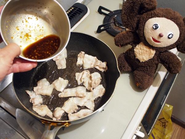豚肉の焼きそば 作り方