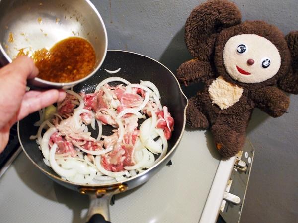 豚しょうが焼き 作り方