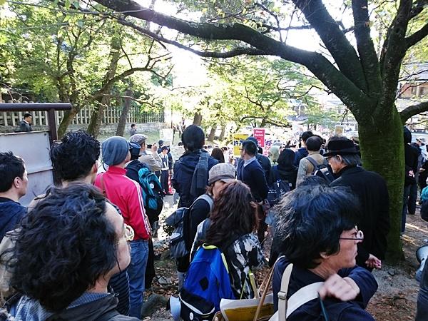 10月25日京都・在特会ヘイトデモへのカウンター