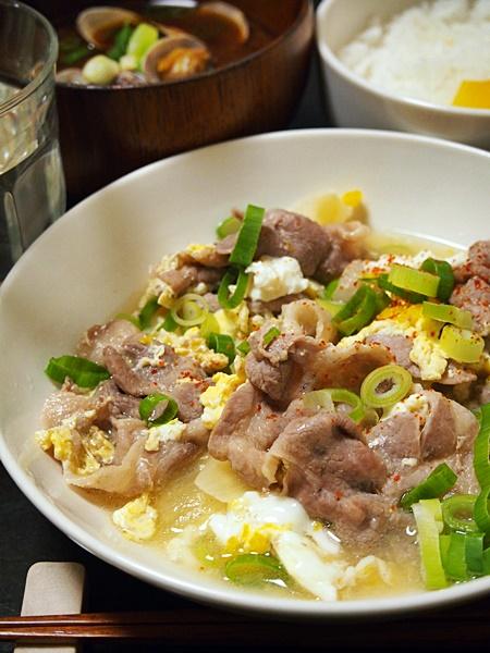 豚肉と卵の他人煮