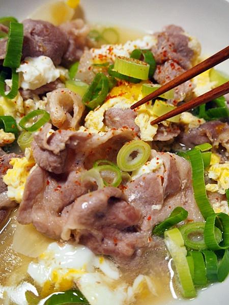 豚肉と卵の他人煮 作り方