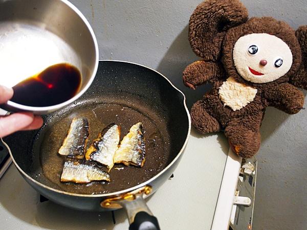 サンマ蒲焼き丼 作り方