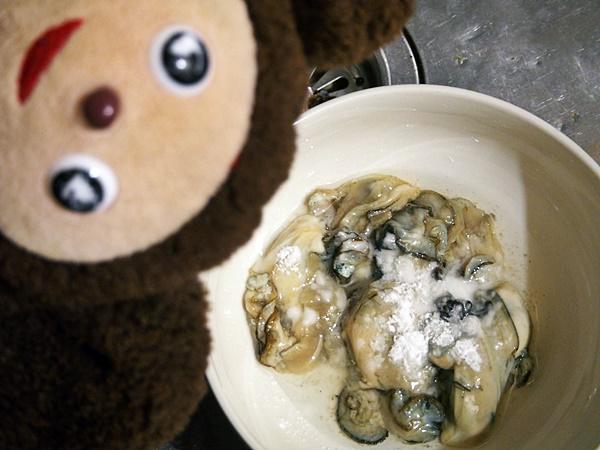 牡蠣とにらのオイスターソース炒め 作り方