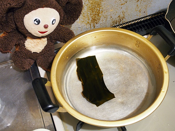 鯛あらのちり鍋 作り方