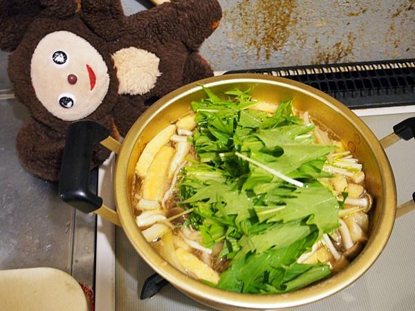 豚肉と水菜のすまし汁 作り方