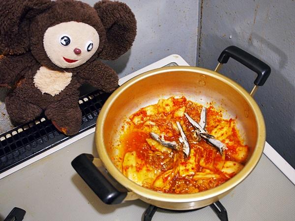 あさりのキムチみそ汁 作り方