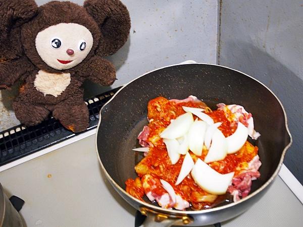 豚キムチ 作り方