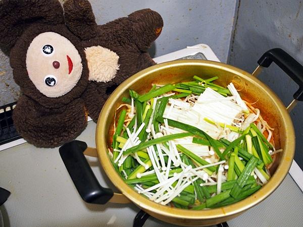 さんまのキムチ煮 作り方