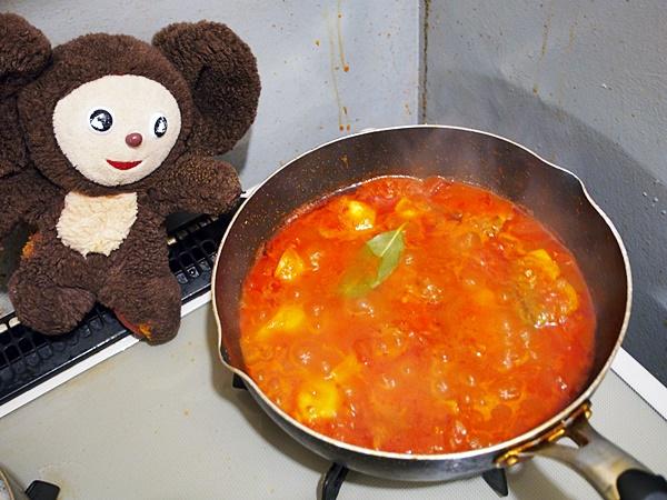 さんまのトマトソース煮 作り方