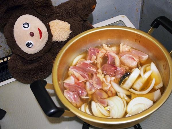 ニラ入り親子煮 作り方