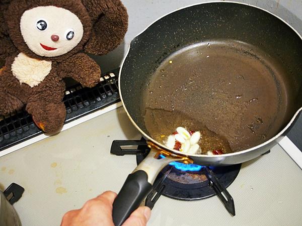 あさりのオイスターソース炒め 作り方