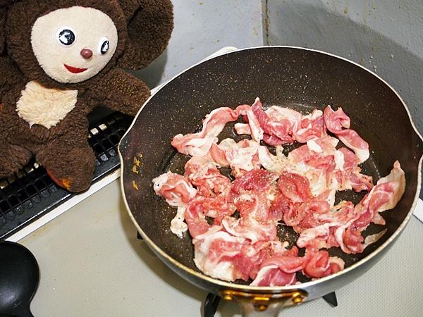 豚肉のニラ玉炒め 作り方
