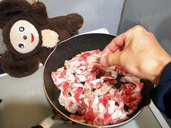 ポパイ炒め 作り方