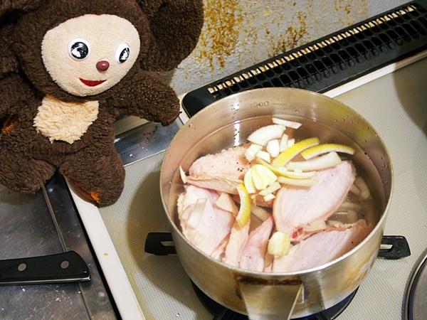 手羽先と大根のスープ 作り方