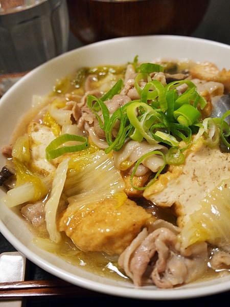 豚肉と白菜のあんかけ煮