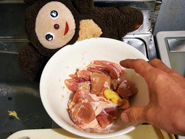 鶏肉とカブの中華風あんかけ煮 作り方