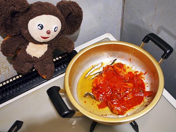 豚じゃがのキムチ汁 作り方