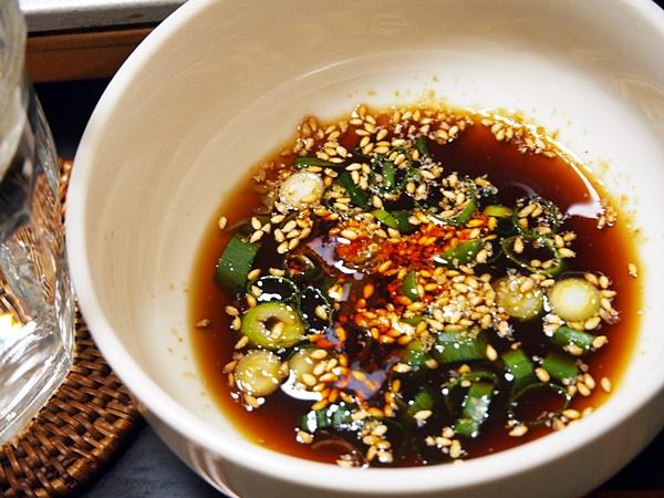 中華風・鶏つみれの水炊き