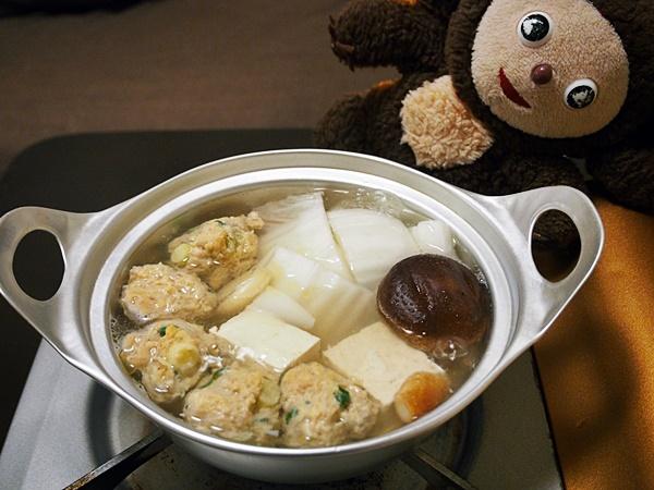 中華風・鶏つみれの水炊き 作り方