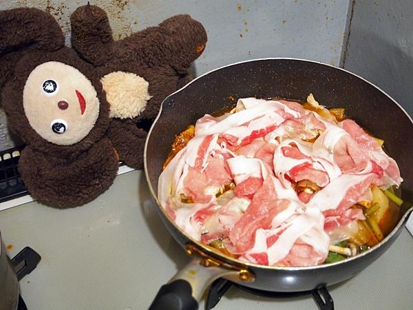 豚肉とかぶのキムチあんかけ煮 作り方