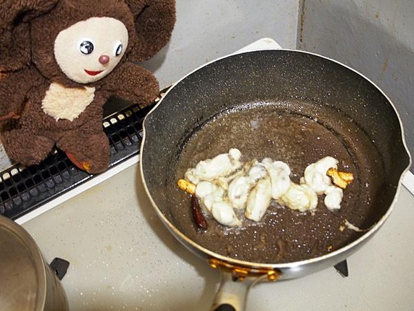 牡蠣のニラ玉 作り方