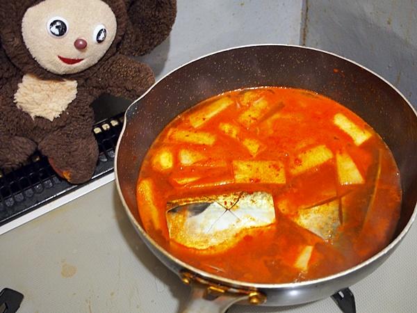 鯖のコチュジャン煮 作り方
