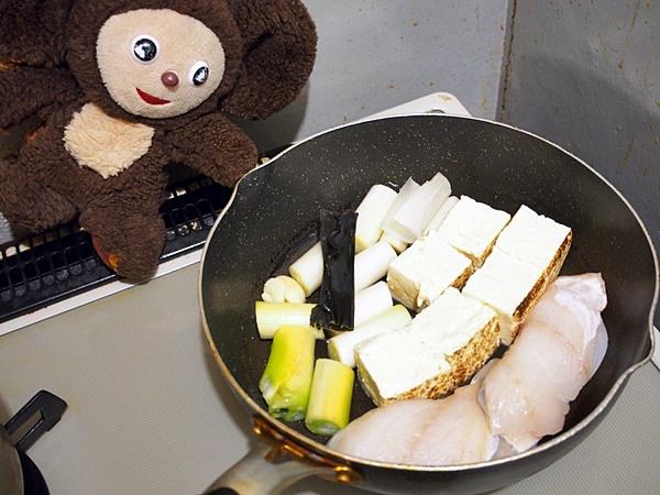 たらと豆腐のうす味煮 作り方