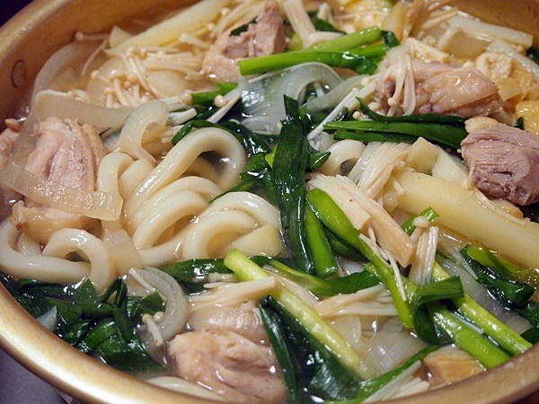 鶏の韓国風煮込みうどん