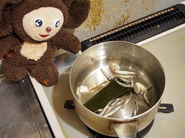 カキのみそ煮込み雑煮 作り方
