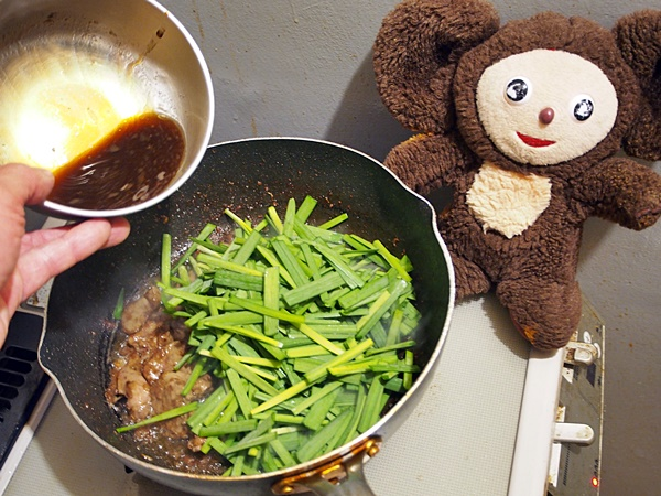 レバニラ炒め 作り方