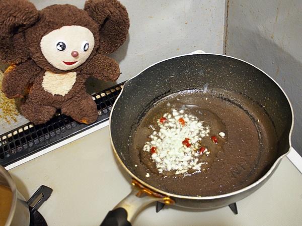 木クラゲと卵炒め 作り方