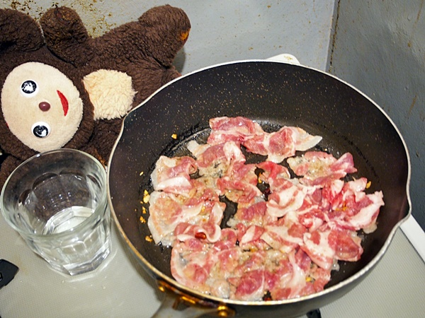 豚肉と豆腐の中華風あんかけ煮