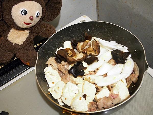 豚肉と豆腐の中華風あんかけ煮 作り方