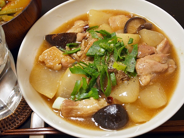 鶏肉と大根の中華風あんかけ煮