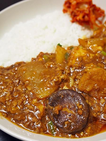 厚揚と大根の中華風カレー