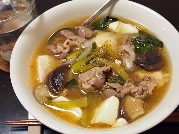 和的中華風・豚肉の肉吸い