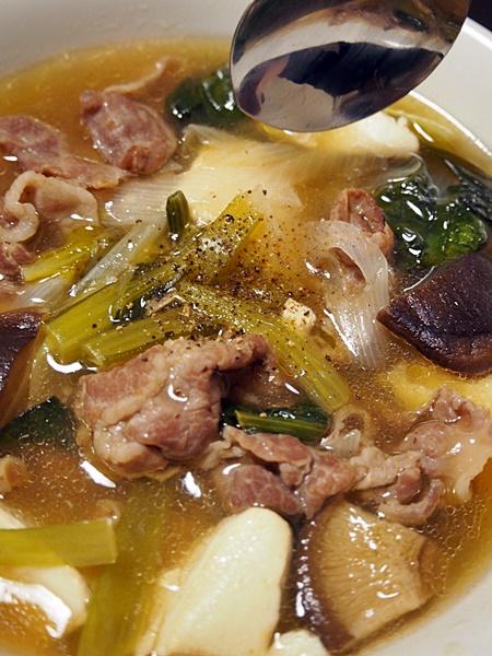 和的中華風・豚の肉吸い