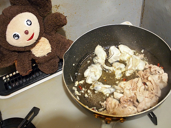 カキの八宝菜 作り方