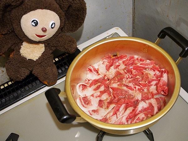中華的・豚の肉じゃが 作り方