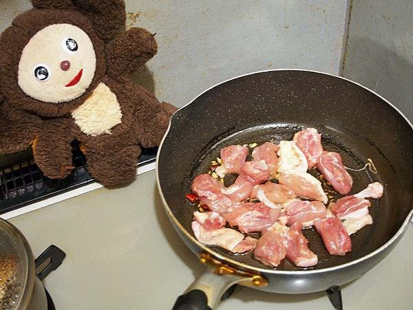 鶏肉の中華的あんかけ皿うどん 作り方