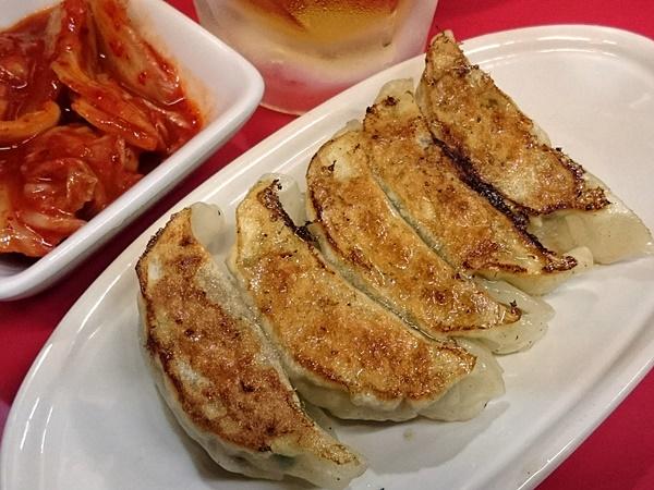 麺対軒 餃子セット+キムチ