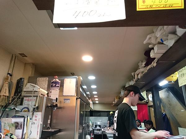 麺対軒 調理場天井