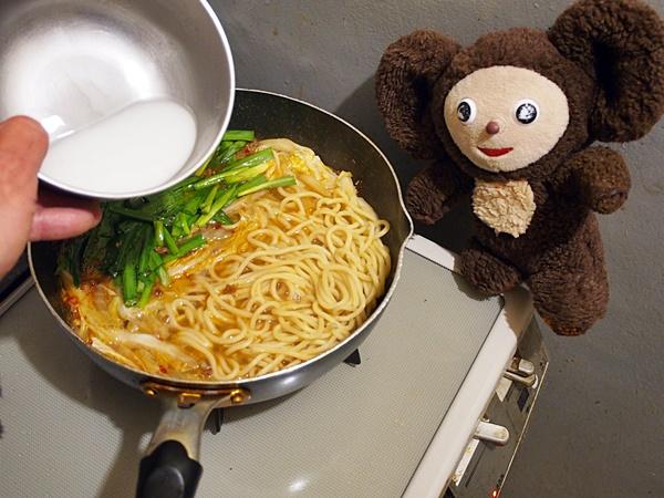 麻婆白菜のチャンポン 作り方