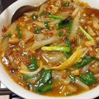 麻婆白菜のチャンポン