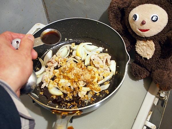 豚のしょうが焼きそば 作り方