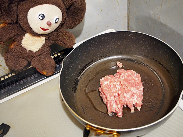 中華風・大根の豚そぼろあんかけ 作り方