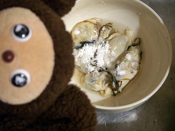 マーボー牡蠣 作り方