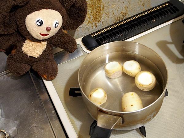 サトイモのさっぱり煮込み 作り方