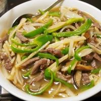 青椒肉絲チャンポン