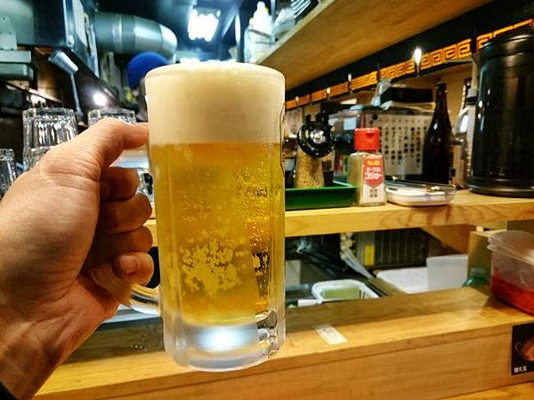 博多食堂・濃麻呂 生ビール